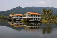 Hotel in Thailand Royalty Free Stock Photography