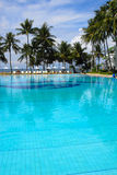 Hotel in Thailand auf Küste von Stockbild