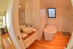 Hotel toilet bathroom Royalty Free Stock Image