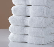 Hotel Towels Stock Image
