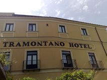 Hotel Tramontano Sorrento Royalty-vrije Stock Afbeelding