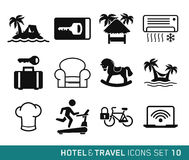 Hotel and Travel Royalty Free Stock Photography