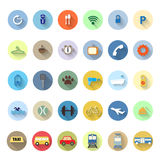 Hotel or travel service flat icon Royalty Free Stock Photography