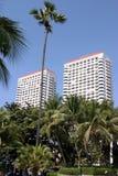 Hotel tropical Fotos de archivo libres de regalías
