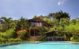 Hotel tropical fotografia de stock