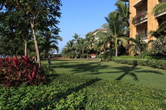 hotel tropikalny Zdjęcie Stock