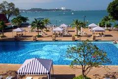 hotel tropikalny Fotografia Stock