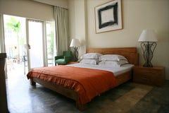 hotel tropikalny Obraz Royalty Free