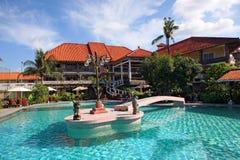 hotel tropikalny Obraz Stock
