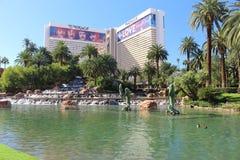 Hotel-Trugbild Vegas Lizenzfreies Stockfoto