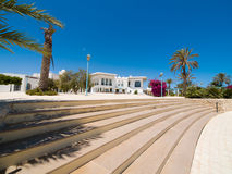Hotel in Tunesien Stockfotografie