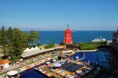 Hotel turco estilizado fotografía de archivo