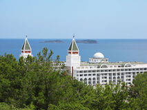 Hotel in Turkey Royalty Free Stock Photo