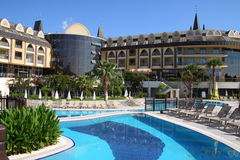 Hotel. Turkey. Royalty Free Stock Image