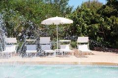 Hotel. On the Tyrrhenian sea, Sardinia Royalty Free Stock Images