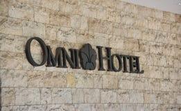 Hotel u. Erholungsorte Omni lizenzfreies stockfoto