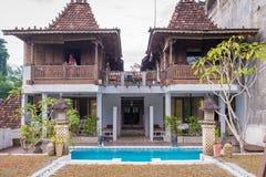 Hotel in Ubud Stock Photography