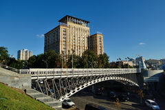 Hotel Ukraine, Kiev Stock Photos