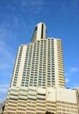 Hotel-und Büro-Kontrollturm Stockbild