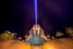 Hotel und Kasino Luxor-Las Vegas Stockbilder