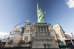 Hotel und Kasino New- Yorknew york Lizenzfreie Stockfotografie