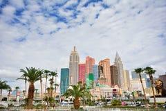 Hotel und Kasino New- Yorknew york in Las Vegas Stockfotografie
