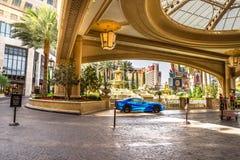 Hotel- und Kasinoparkservice Palazzo Stockfoto