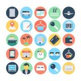 Hotel und Service-Vektor-Illustrationen 5 Lizenzfreie Stockfotografie