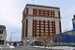 Hotel Utica, Utica, New York State, USA Stock Image