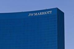 Hotel van de binnenstad II van JW Marriott Royalty-vrije Stock Fotografie
