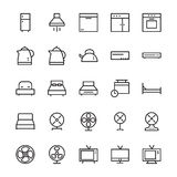 Hotel Vector Icons 3 Stock Photography