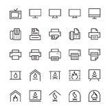 Hotel Vector Icons 4 Royalty Free Stock Photo