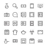 Hotel Vector Icons 11 Royalty Free Stock Photos