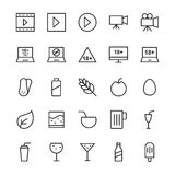 Hotel Vector Icons 13 Royalty Free Stock Photos