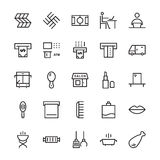 Hotel Vector Icons 16 Stock Photography