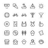 Hotel Vector Icons 17 vector illustration
