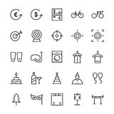 Hotel Vector Icons 19 Royalty Free Stock Photos