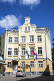 Hotel velho da cidade de Meriton em Tallinn velho fotografia de stock royalty free