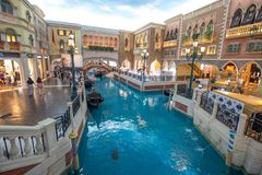 Hotel veneciano imagen de archivo libre de regalías