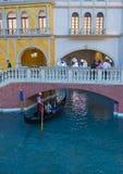 Hotel veneciano de Las Vegas Imágenes de archivo libres de regalías