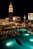 Hotel veneciano en Las Vegas Imágenes de archivo libres de regalías