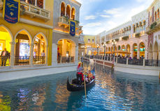 Hotel Venetian de Las Vegas Fotografia de Stock Royalty Free