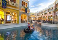 Hotel veneziano di Las Vegas Fotografia Stock Libera da Diritti