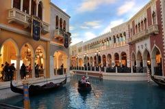 Hotel veneziano Las Vegas Immagini Stock Libere da Diritti
