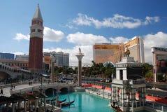 Hotel veneziano, Las Vegas Fotografia Stock Libera da Diritti