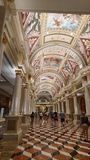 Hotel veneziano, Las Vegas, Nevada fotografia stock