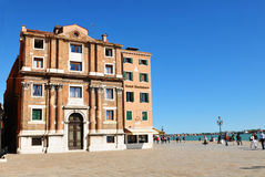 Hotel in Venice Stock Image