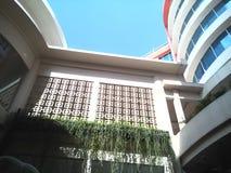 Hotel verdi e piacevoli Immagini Stock Libere da Diritti