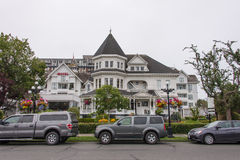 Hotel Victoria, British Columbia, Canada Royalty Free Stock Image