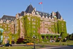 Hotel Victoria Canadá da imperatriz de Fairmont Foto de Stock